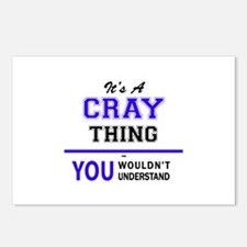 It's CRAY thing, you woul Postcards (Package of 8)