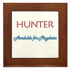 Hunter - Available for Playda Framed Tile