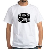 Cheaters Mens White T-shirts