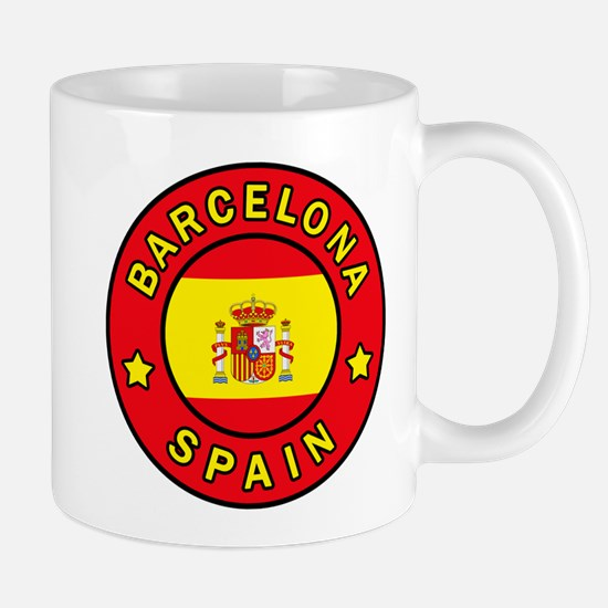 Barcelona Spain Mugs