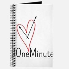 #OneMinute Heart Journal
