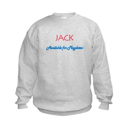 Jack - Available for Playdate Kids Sweatshirt