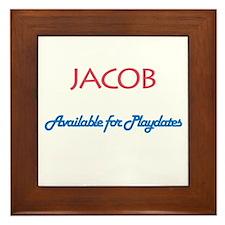 Jacob - Available for Playdat Framed Tile