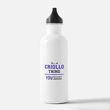 It's CRIOLLO thing, yo Water Bottle