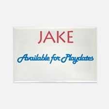 Jake - Available for Playdate Rectangle Magnet (10