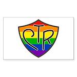 CTR Rectangle Sticker