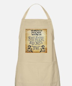 Pirate Wench Wanted Apron