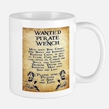 Pirate Wench Wanted Mugs