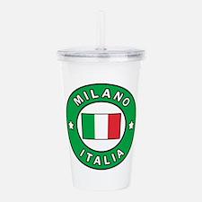 Milano Italia Acrylic Double-wall Tumbler