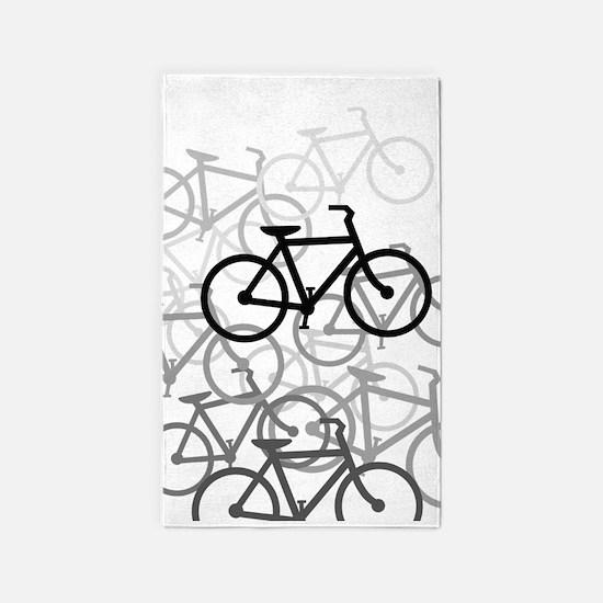 Bikes Area Rug