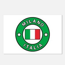 Milano Italia Postcards (Package of 8)