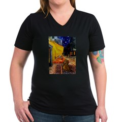 Cafe /Dachshund Shirt
