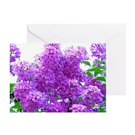 Fragrant Lilacs Greeting Cards (Pk of 10)