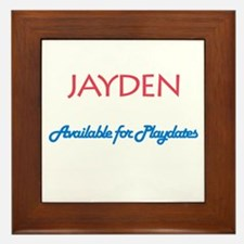 Jayden - Available for Playda Framed Tile