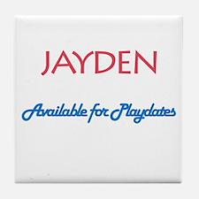 Jayden - Available for Playda Tile Coaster