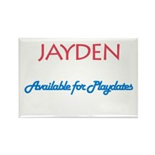 Jayden - Available for Playda Rectangle Magnet (10