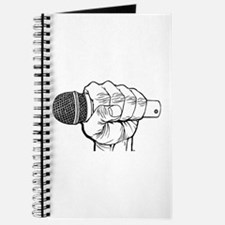 Microphone Fist Journal