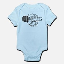 Microphone Fist Infant Bodysuit