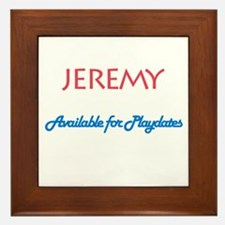 Jeremy - Available for Playda Framed Tile