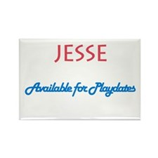 Jesse - Available for Playdat Rectangle Magnet (10