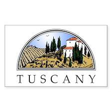 Tuscany Rectangle Decal