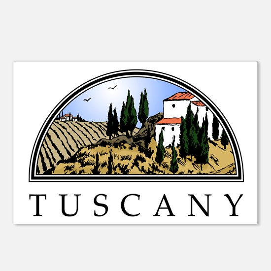 Tuscany Postcards (Package of 8)