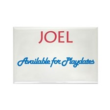 Joel - Available for Playdate Rectangle Magnet (10