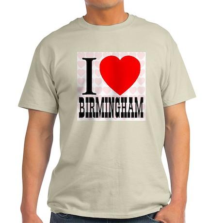 I Love Birmingham Light T-Shirt