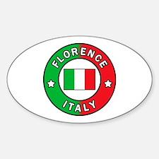 Unique Siena Sticker (Oval)