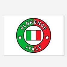 Florence Italy Postcards (Package of 8)