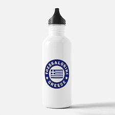 Thessaloniki Greece Sports Water Bottle