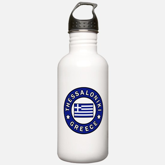 Thessaloniki Greece Sports Water Bottle