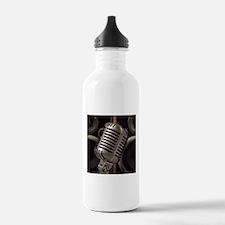 Microphone Sports Water Bottle