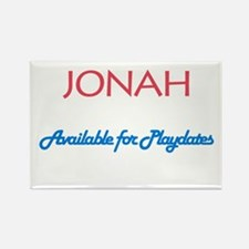 Jonah - Available for Playdat Rectangle Magnet (10