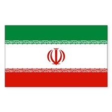 Iran Rectangle Decal