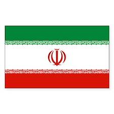 Iran Rectangle Decal