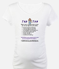 Top Ten Preggo Woman Shirt