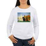 Sailboats / Dachshund Women's Long Sleeve T-Shirt