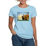Sailboats / Dachshund Women's Light T-Shirt