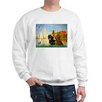 Sailboats / Dachshund Sweatshirt