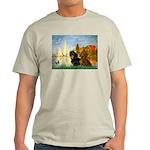 Sailboats / Dachshund Light T-Shirt