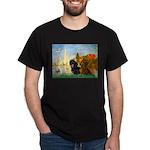 Sailboats / Dachshund Dark T-Shirt