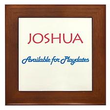 Joshua - Available for Playda Framed Tile