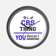 It's CRS thing, you wouldn't understand Wall Clock