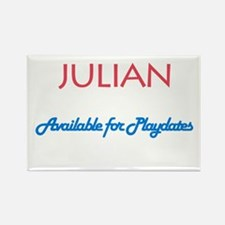 Julian - Available for Playda Rectangle Magnet (10