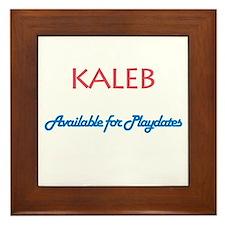 Kaleb - Available for Playdat Framed Tile