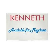 Kenneth - Available for Playd Rectangle Magnet (10