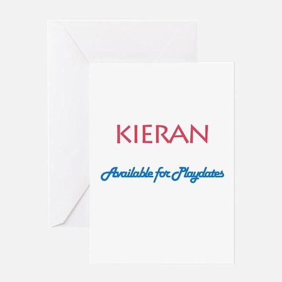 Kieran - Available for Playda Greeting Card