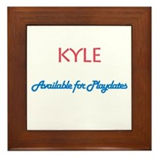 Kyle - Available for Playdate Framed Tile