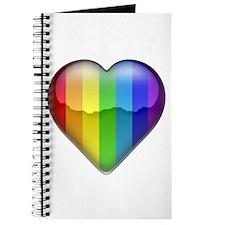 Rainbow Heart 1 Journal